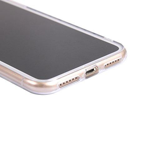 Funda iPhone X,EUDTH Suave TPU Gel Funda Case Delgado Silicona Fundas Carcasa Espalda para iPhone X (5.8 Pulgadas) Barcos Torre