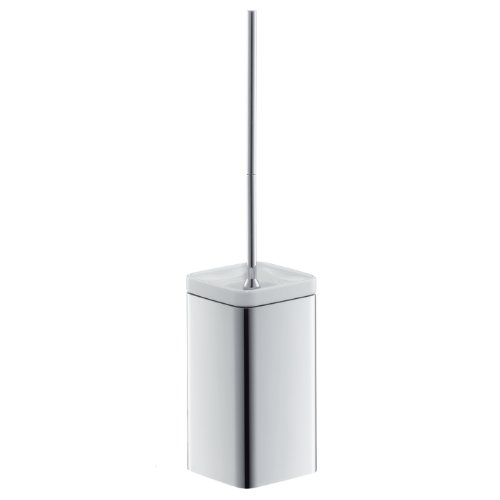 Axor 42435000 Urquiola Wall-Mounted Toilet Brush with Holder, Chrome by AXOR
