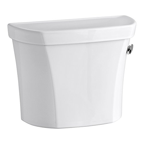 KOHLER K-5311-RA-0 Wellworth 1.28 GPF Toilet Tank for Concealed Trapway Bowl with Right-Hand Trip Lever, White by Kohler