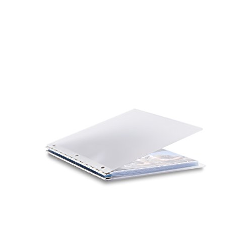 (Pina Zangaro Vista 8.5x11 Portriat Screwpost Binder Mist, Includes 20 Pro-Archive Sheet Protectors (34079))