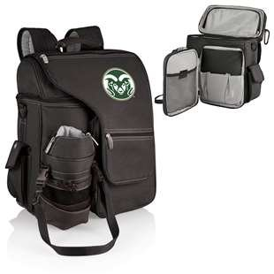 PICNIC TIME NCAA Colorado State Rams Digital Print Turismo, One Size, Black