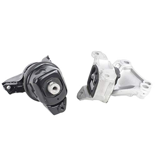 Civic Sohc Engine - DNJ MMK1033 Complete Engine Motor & Transmission Mount kit for 2002-2014 / Honda/Civic / SOHC / 1.8L