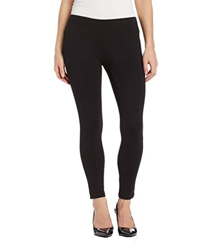 Hue Ponte Leggings Black Large by HUE