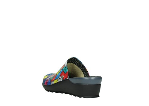 Zapatos nbsp;Pima Lace Up comodidad Multi Wolky Picasso 01510 40922 Suede wtB1qtX