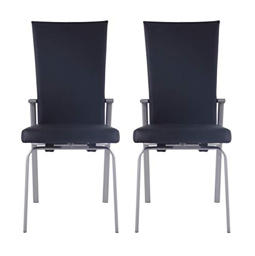 (Milan Monique Motion Back Side Chair, Set of 2,)