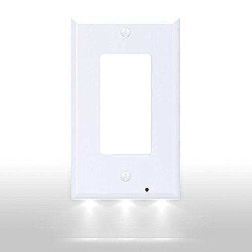 wall outlet cover plate blue - 8
