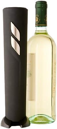 BRANDANI 57790 Abridor de Vino eléctrico Negro sacacorchos - Sacacorchos (Abridor de Vino eléctrico, Negro, De plástico, 100 mm, 100 mm, 270 mm)