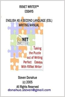 rxnet writer essays english as a second language esl writing  rxnet writer essays english as a second language esl writing manual  steven donahue  amazoncom books