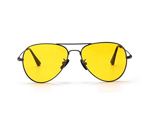 de visión sol nocturna al gafas Mujeres Gafas libre de Gafas sol Ciclismo de Yellow Conducción hombres viajar polarizadas aire UV400 protección Hombres para los Moda de Amarillo de vqPvUnrY