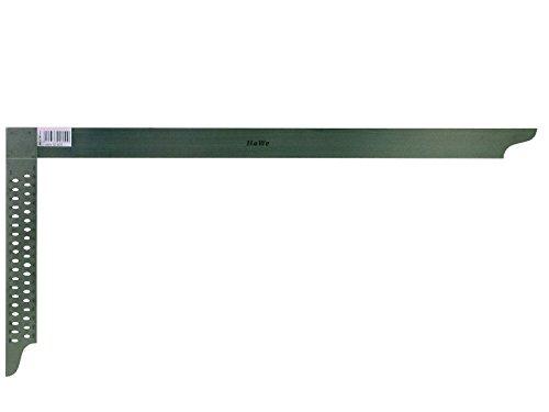 HaWe 92.100 Zimmermannswinkel 1000mm rostfrei mit Anreiß lö chern