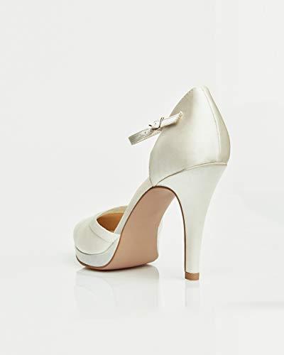 pour femmes à ivoire chaussures en Avalia talons qw6pRnO
