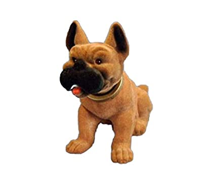 Motivo de boxer 18 cm perro Enano de jardín Motivo Animales de PVC Decoración grs LI