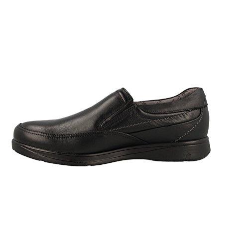Trabajo Hombre New Negro Fluchos Zapatos Negro Negro Professional para Sanotan de qPaCIw