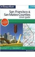 San Francisco & San Mateo Counties (Thomas Guide San Francisco/San Mateo Counties Street Guide & Directory) - Mateo Shopping San