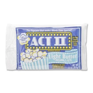 Act II Microwave The Classic Light Butter Popcorn, 2.75 Ounce -- 36 per case.