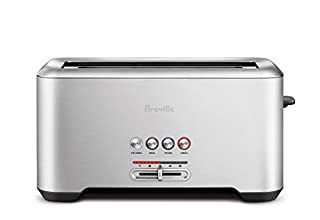 Breville A Bit More 4 Slice Toaster, silver - BTA730XL (B00COMHBT0) | Amazon Products