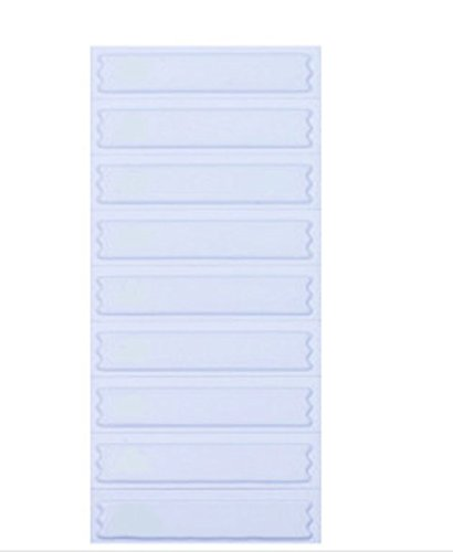 Image of 5,000 Signatronic AM Labels in Plain White, Compatible with Sensormatic Systems Anti-Theft Equipment