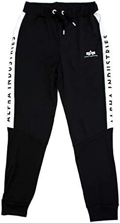 ALPHA INDUSTRIES Herren Jogginghose Track Suit Jogger II schwarz