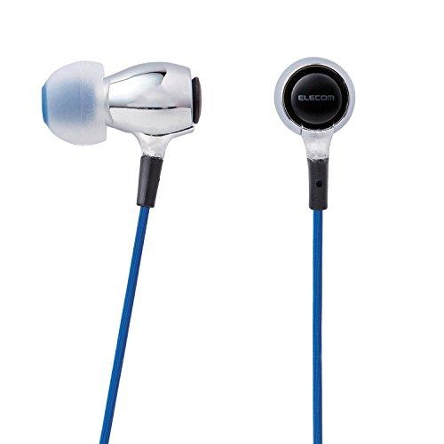 Canal Stereo (ELECOM Stereo headphone Canal BA Driver BA100 Silver EHP-BA100SV)