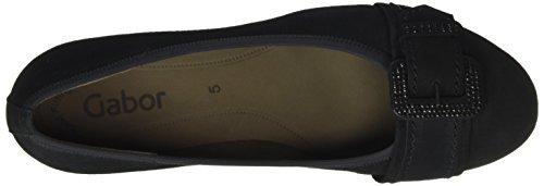 Gabor Shoes Basic, Zapatos de Tacón para Mujer Azul (pazifik 16)