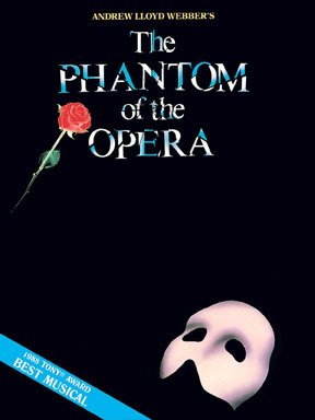 Phantom of the Opera: Music from the Musical - Piano/Vocal/Guitar