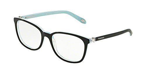 ffaa4c31a54 Tiffany   Co. TF2109HB - 8193 Eyeglass Frame BLACK STRIPED BLUE 53mm