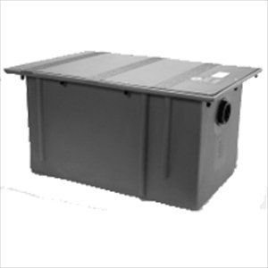 Zurn GT2702-04 Polyethylene Grease Trap 4 Gallons Per Min...
