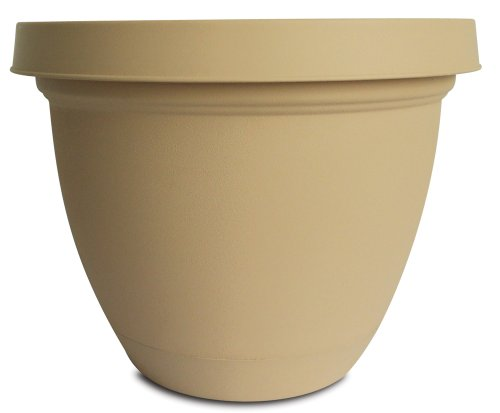 Akro Mils Infinity Planter Attached Sandstone