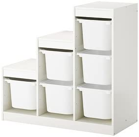 Ikea TROFAST combinaci/ón de almacenaje con Cajas /Â /£ 63-100x44x94 cm