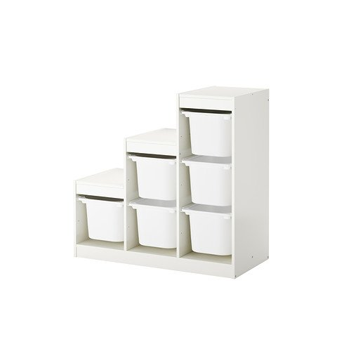 Ikea TROFAST - Storage combination with boxes £63-100x44x94 cm