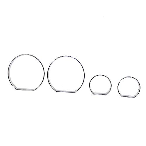 Chrome Gauge Dashboard Trim Chrome Speedometer Frame Gauge Cluster Dashboard Bezel Rings Trim Dial Dash Covers for BMW E46 1999-2006: DIY & Tools