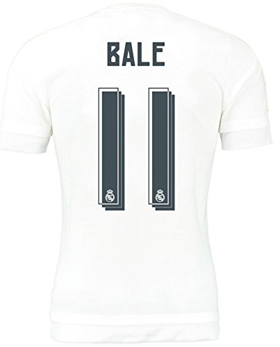 Real Madrid Home 2015-16 Jersey with Bale 11 Printing