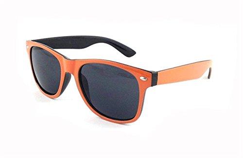 ASVP de Shop Wf33 Wayfarer UV400 ® classique Lunettes Black Orange soleil 7g4rn7T