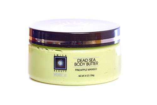 Bem Brazilian Body Butter Natural Moisturizing Cream for Dry Skin with Coconut and Shea Butter 8 oz