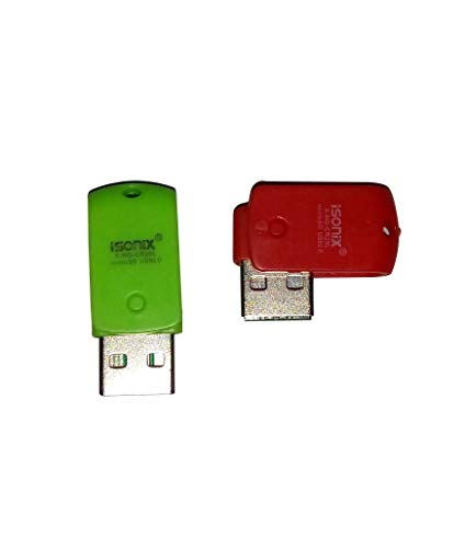 ISONIX Micro SD Memory Card Reader USB 2.0  2 Set