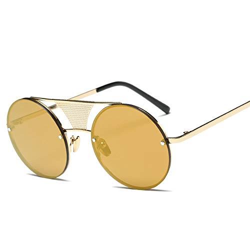 Protection 100 Haute Cadre Rétro Alliage Lunettes Homme Loisirs De UV ZHRUIY A7 9 Goggle Couleurs Round Femme Sports Qualité Soleil 0PF7vvq