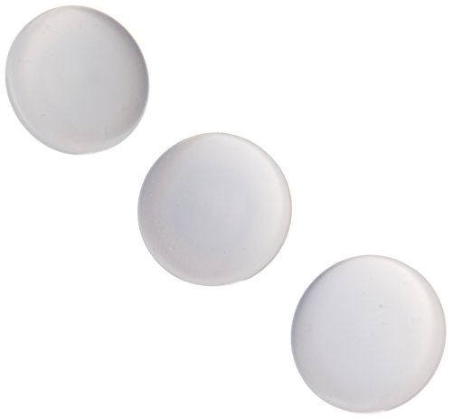 Slimline Buttons Series 1-White Shank 1/2