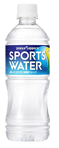 Pokka Sapporo Sports Water 550mlX24 this by Water Sports