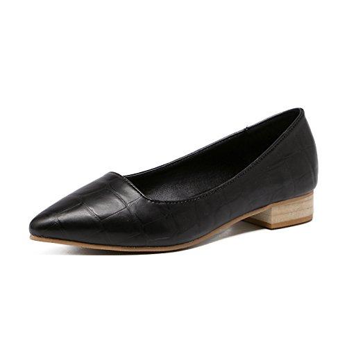 Zapatos de Zapatos Xue Qiqi Tac de Corte la Aw5vnz4qxR
