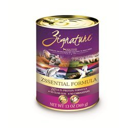UPC 888641131242, Zignature Grain Free Zsssentials Canned Dog Food 13oz,12 pack