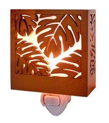 Monstera Tropical Night Light 3.5'' X 3.25''