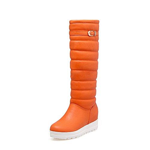 BalaMasa  Abl09391, Sandales Compensées femme - Orange - Orange,