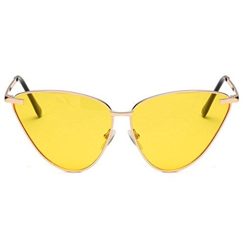Cateye Lunettes Vintage Malloom Lunettes de Acétate UV soleil pour femme D Cadre Cadre EArzrqf