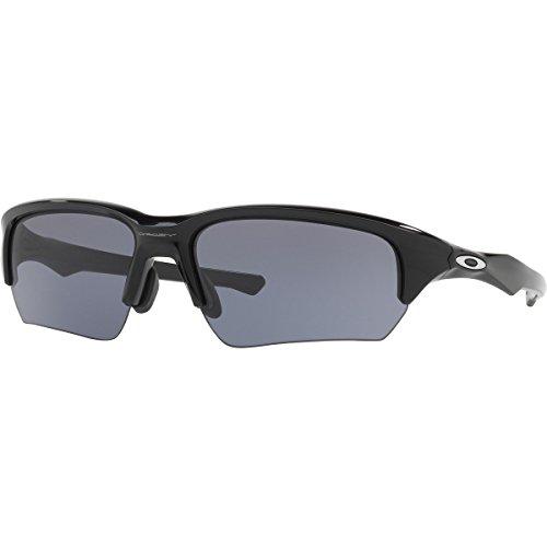 Oakley Men's Flak Beta (a) Rectangular Sunglasses, Polished Black, 65.01 - Beta Flak Oakley