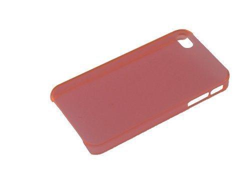 Avcibase TPU Bumper Silikon Schutz Hülle für Apple iPhone 4/4S rot