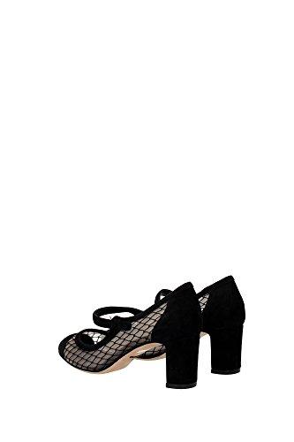 CD0445AD12080999 Dolce&Gabbana Pumps Damen Wildleder Schwarz Schwarz