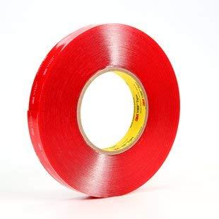 3M Scotch 4910 VHB Tape: 1 in. x 15 ft. (Clear)