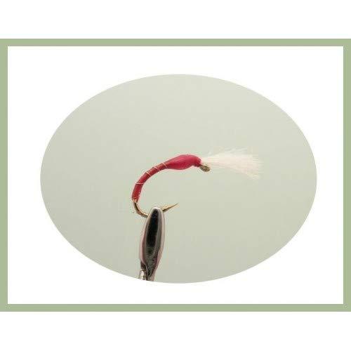 Troutflies UK Mixed Packs Buzzer Forellenfliegen 40 St/ück Epoxid-Boozzer gemischte Farben und Gr/ö/ßen Fliegenfischen