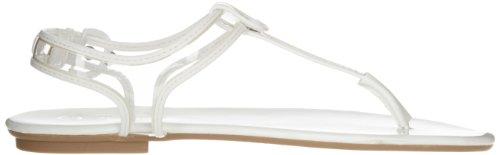 CL by Laundry Frauen Natalia Offener Zeh Leger Flip Flops Clear/white