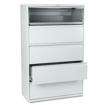 eries Five-Drawer Lateral File (Hon 800 Series Five Drawer)